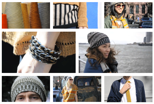 Kordal knitwear (and rewards!) in action.