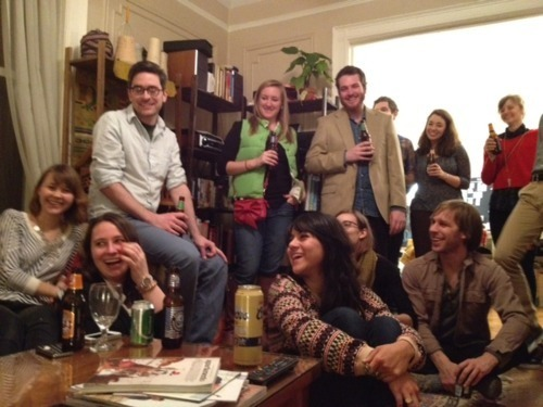 Team Kordal celebrating the completion of their Kickstarter video.