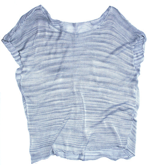 Project reward: Asymmetrical silk blouse.