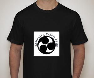 Yamakiya Taiko Club T-shirt (concept)