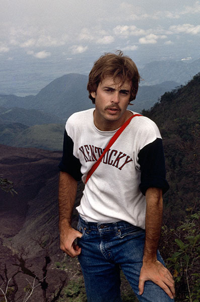 The Top of the Volcano, Overseas Mission Camp, Guatemala 1978