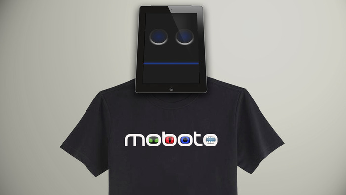 Moboto T-shirt. Male and Female sizes.