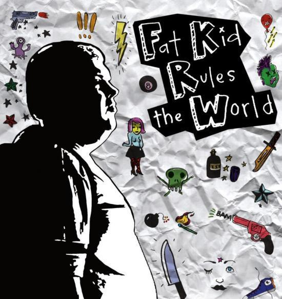Poster for Fat Kids Rule the World.
