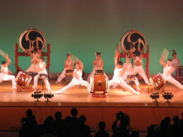 Yamakiya Taiko Club Performance