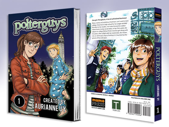 Polterguys Vol. 1 Front and Back Cover