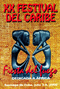 HERE IS A RECENT POSTER FROM FESTIVAL DEL CARIBE (LIMITED AMOUNT, CHECK REWARDS)