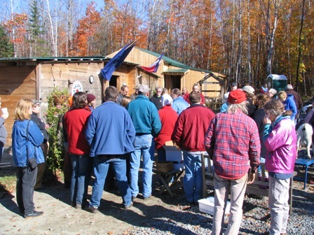 Goat School, Fall of 2006, the foliage was gorgeous