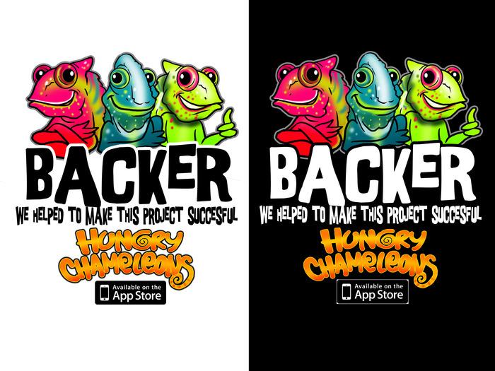 """""""Backer"""" T-Shirt Design"""