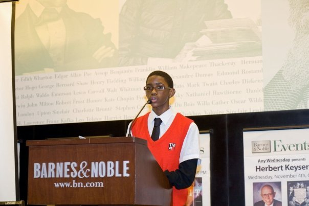 Alvin presents his work at our annual Barnes & Noble reading.