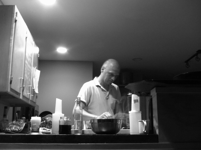 Chef Jon :: Test Kitchen.  Midnight.