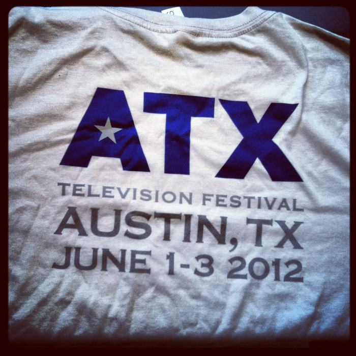 Back of 2012 Official Festival t-shirt