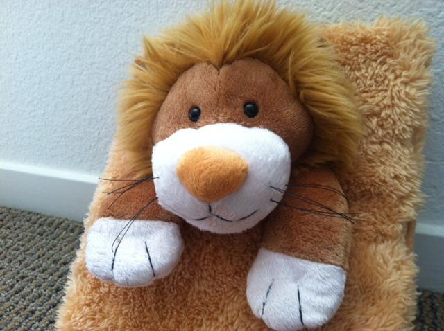 Prototype #4--Lenny the Lion