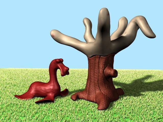 """Slatherpuss"" Print Series: ""Tree"""