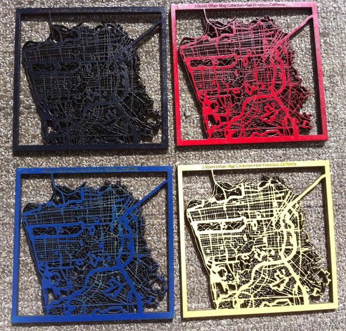 Cubicle Art - Grid of Colors