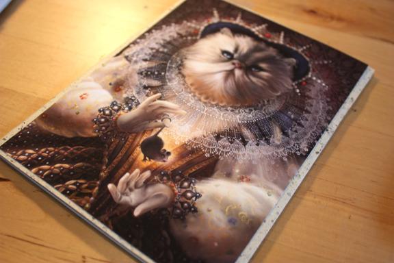 Mock up of handmade book.  Reward #9