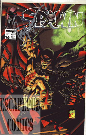 Spawn, signed by Mark Teixeira