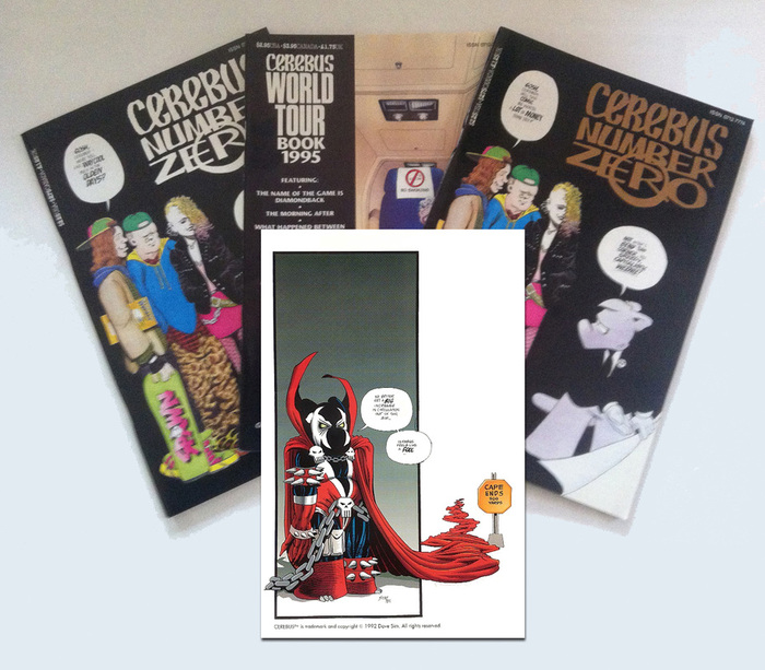 All the Dave Sim goodness you can handle!!