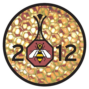 The Otic Oasis 2.0 Sticker, with the Burning Bee pendant image