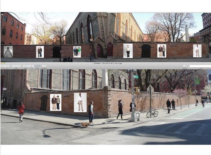 Via del Popolo Wall Concept