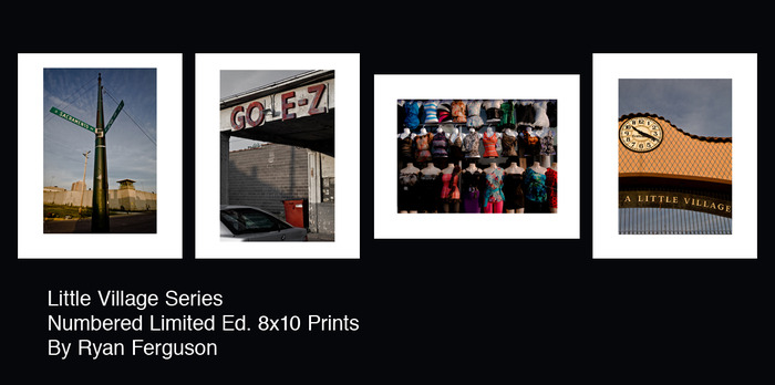 $75+ Incentive - Four signed and numbered, high quality prints by director Ryan Ferguson. Little Village is home to Leo Castillo and is the location where most of 'Skate or Die' takes place.
