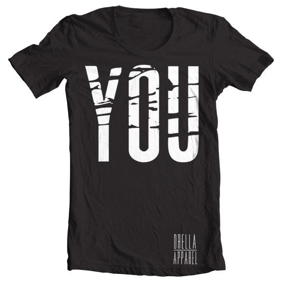 You Tee - Black