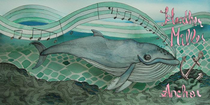 Album artwork by Alicia Carradus