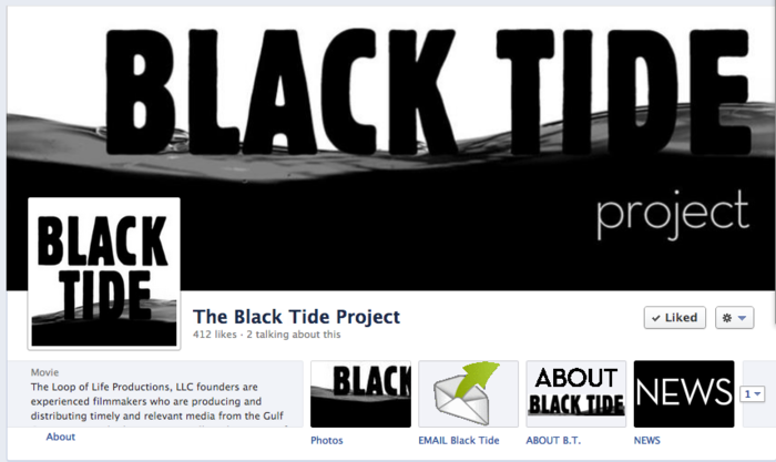 Black Tide is on Facebook as the BlackTideProject