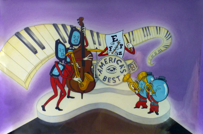 """""""Band"""" Cel from Eyeglass series"""