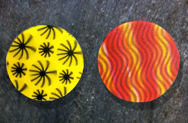 Hand-Made Lenticular-backed Mirrors