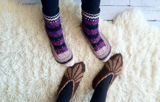 Each pair of socks gets us one step closer to the knitting center.