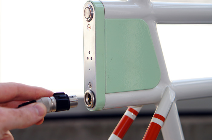The Porteur charges in only 45min to provide 10-15 miles of powerful pedal-assist.