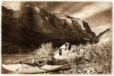 Deer Creek Logic  (photogravure)