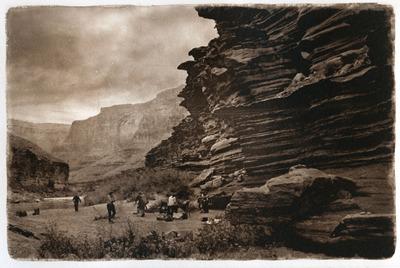 Camp 118.6  (photogravure)