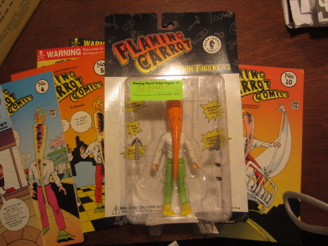 "The ""Green Pants, Yellow Flippers"" Action Figure Variant (only 1,000 made) THE HEAD ACTUALLY LIGHTS UP!!"