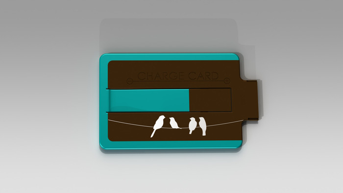 """Limited Edition """"Birds on Wire"""" ChargeCard"""
