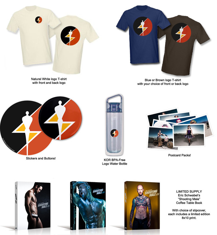 A slew of rewards for everyone who donates $5 or more!