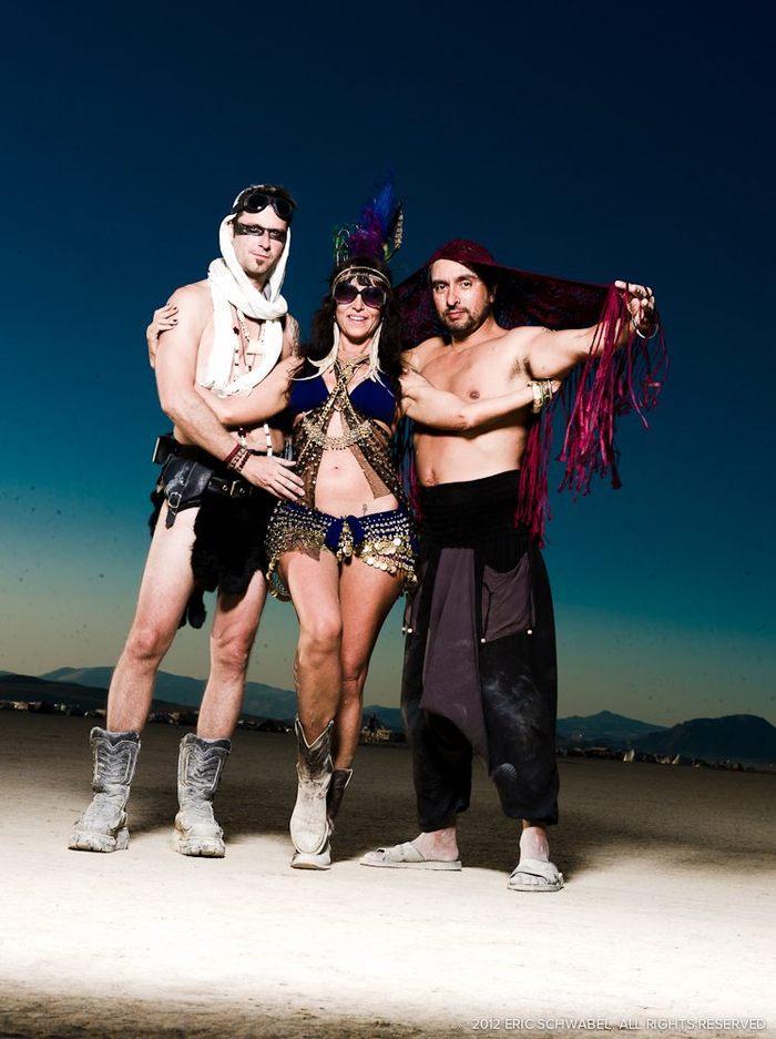 3 Amigos! Near Otic Oasis, 2011