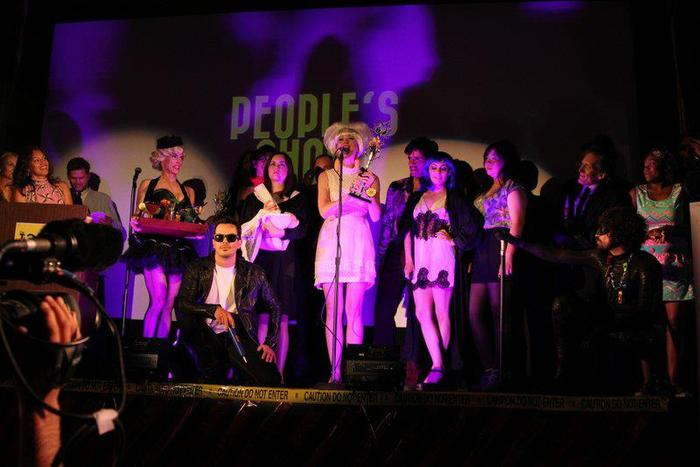 """The 2012 Toxies winners on stage, """"People's Choice"""" winner GMO delivers her acceptance speech. See more photos and video!"""