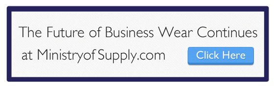 Click above to check out our website at ministryofsupply.com