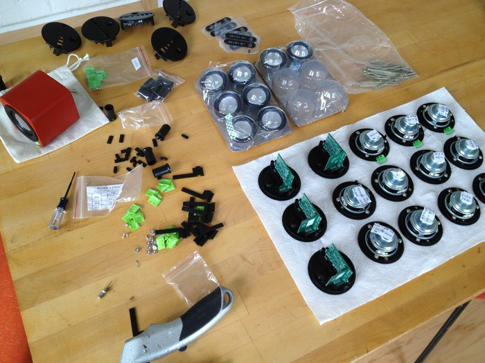 More pre-production parts are arriving every day - always exciting!