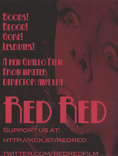 RED RED Comic-Con 2012 Flyer