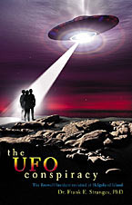 """UFO CONSPIRACY """"Book"""" by Dr. Frank Stranges."""