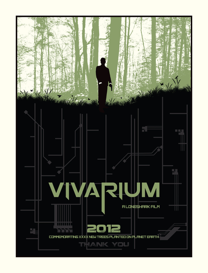 The Vivarium Commemorative Tree Poster - by Mike Klay