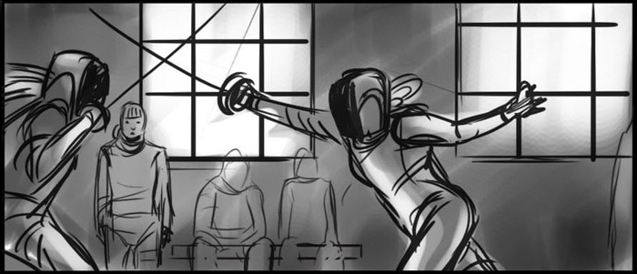 Storyboards by Darcy Ripley.