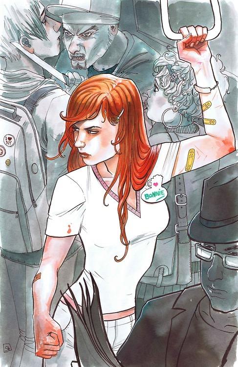 Bonnie Braverman Subway Painting by Stephanie Hans