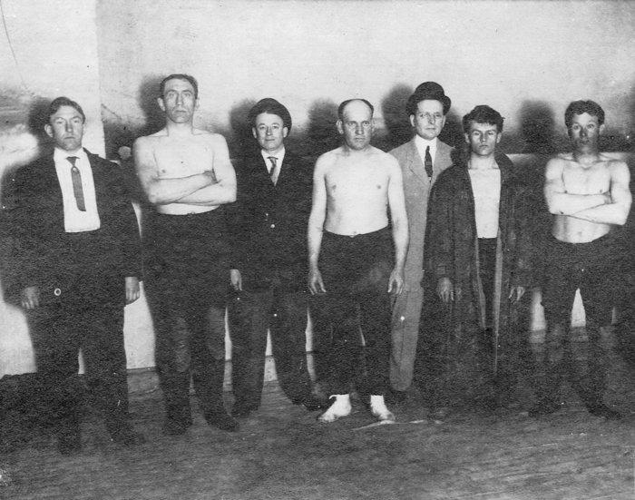 Nebraska Wrestlers, 1911