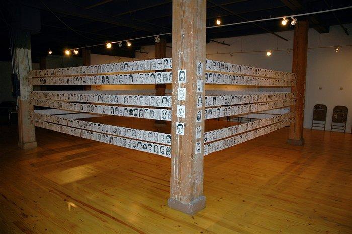 1000 Wrestlers The Exhibit, 2005