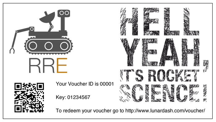 Become part of the experiment. Get an RRE Voucher!