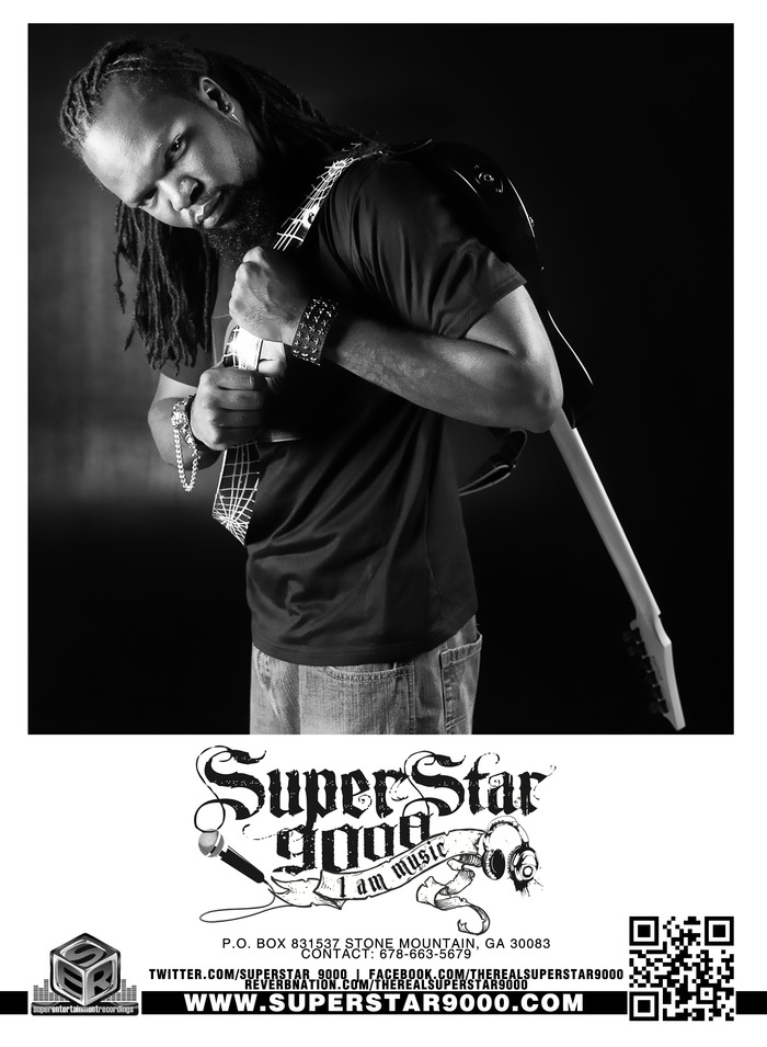 Superstar 9000 Autograph picture that you will receive as an award