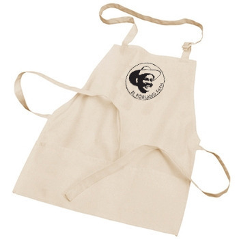 New Apron featuring the El Poblano logo for backers at $28